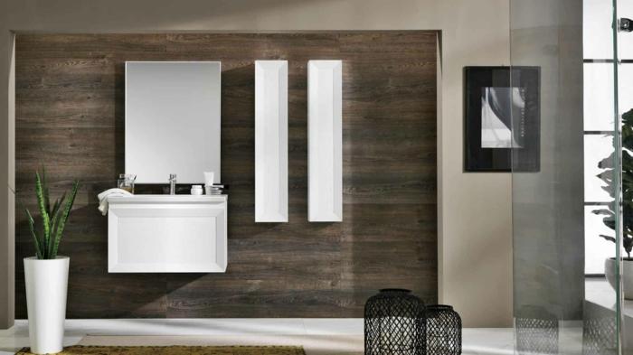 1001 id es pour une salle de bain avec verri re cloisons douches. Black Bedroom Furniture Sets. Home Design Ideas