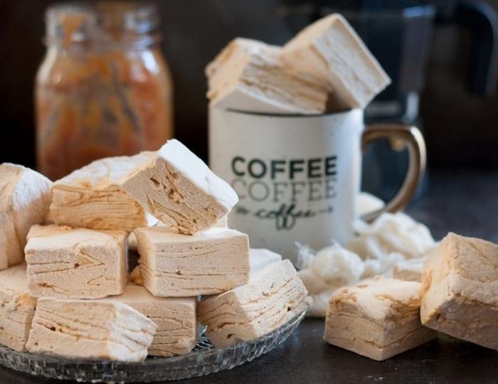 recette guimauve originale saveur caramel et café, qui apportera une saveur exquise à vos boissons chaudes