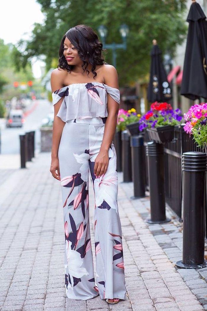 Idée comment s habiller combinaison élégante champetre invité mariage tenue champêtre chic originale s'habiller bien