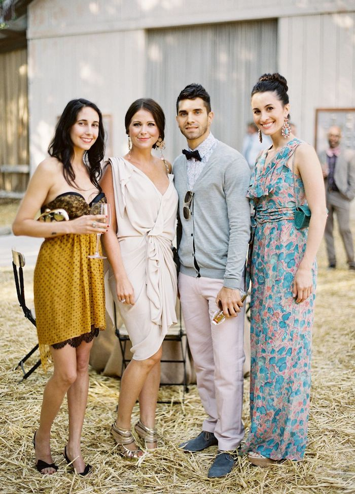 Tenue campagne chic robe champetre femme tenue décontracté chic cool idée photo des invités