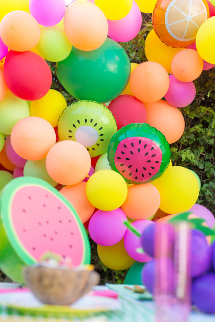 Diy anniversaire deco anniversaire a faire soi meme cool idée à réaliser arche de ballons magnifique