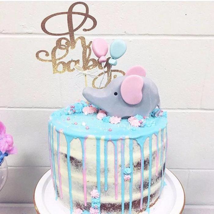 Femme enceinte annonce bebe sexe gâteau pour annoncer le sexe de bébé elephant en pate a sucre savoir le sexe du bebe