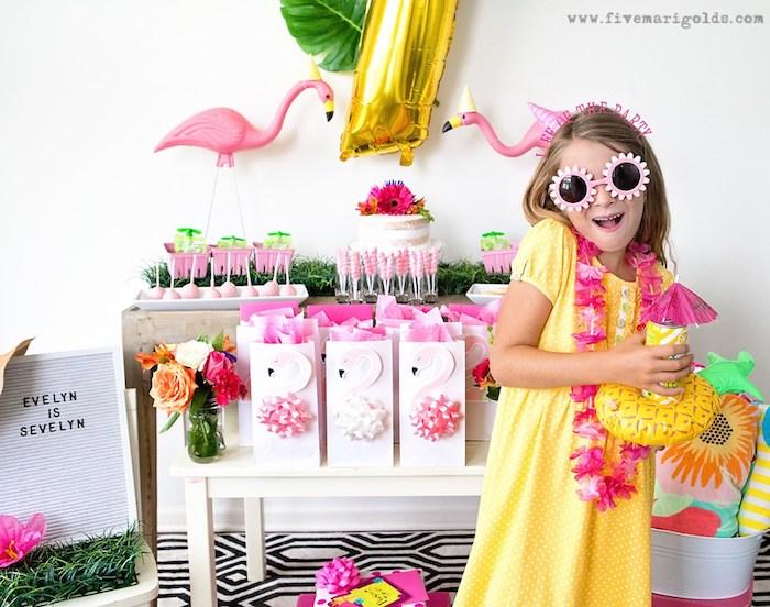 Deco a faire soi meme deco anniversaire fille simple et rapide deco d anniversaire idée de décoration anniversaire flamants roses
