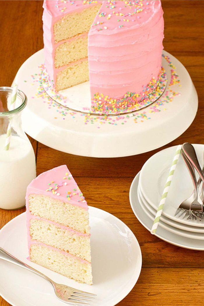 Belle decoration gateau shower bebe gateau naissance gâteau baby shower rose décoration gateau bébé fille