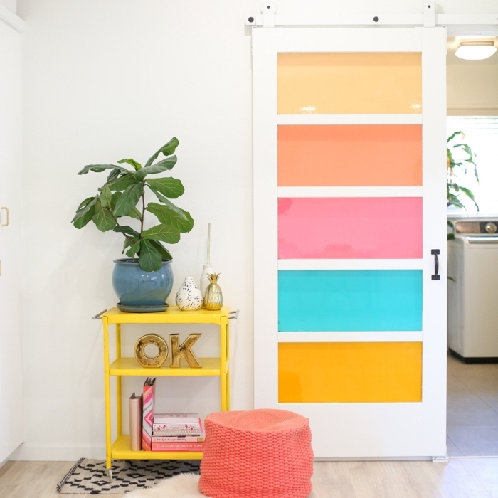 ★ ▷ 1001 + idées petit budget de décoration de porte intérieure