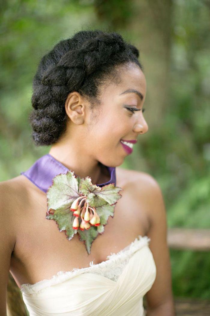 ▷ 1001 + idées pour la plus belle coiffure mariage avec tresse