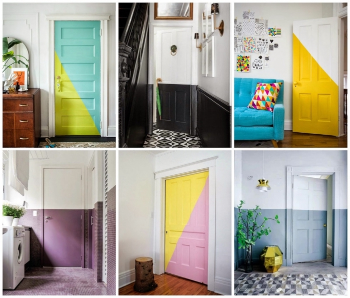 quelle peinture de porte pour dynamiser et donner un aspect moderne à nos espaces