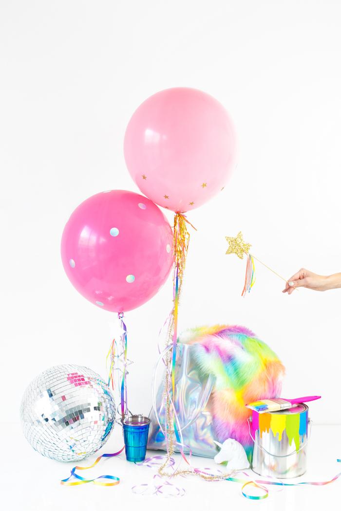 Decoration anniversaire fille déco anniversaire à faire soi même créer de beauté theme licorne