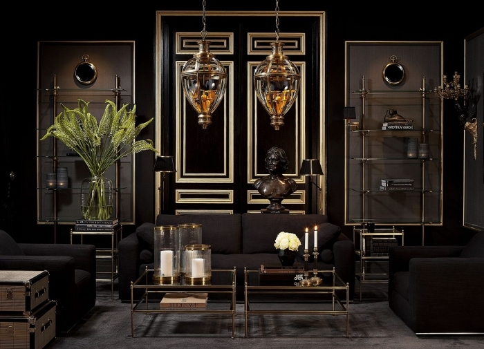 1001 id es petit budget de d coration de porte int rieure. Black Bedroom Furniture Sets. Home Design Ideas
