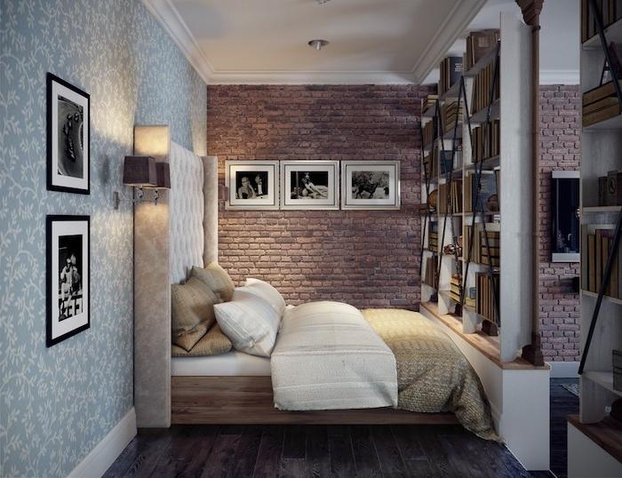 Les Meilleures Idées Déco Petite Chambre Adulte U2013 Trouvez Les Trucs Et Les  Astuces Des Designers ...
