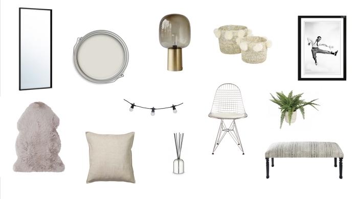 accessoires décoratifs de style bohème chic pour chambre à coucher, modèle de tapis à imitation peau animale