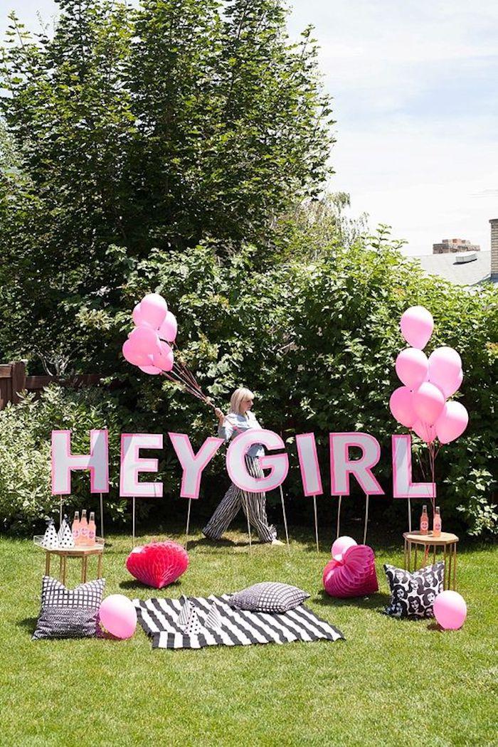 Quelle decoration anniversaire 18 ans idée bricolage maison idee pour les filles
