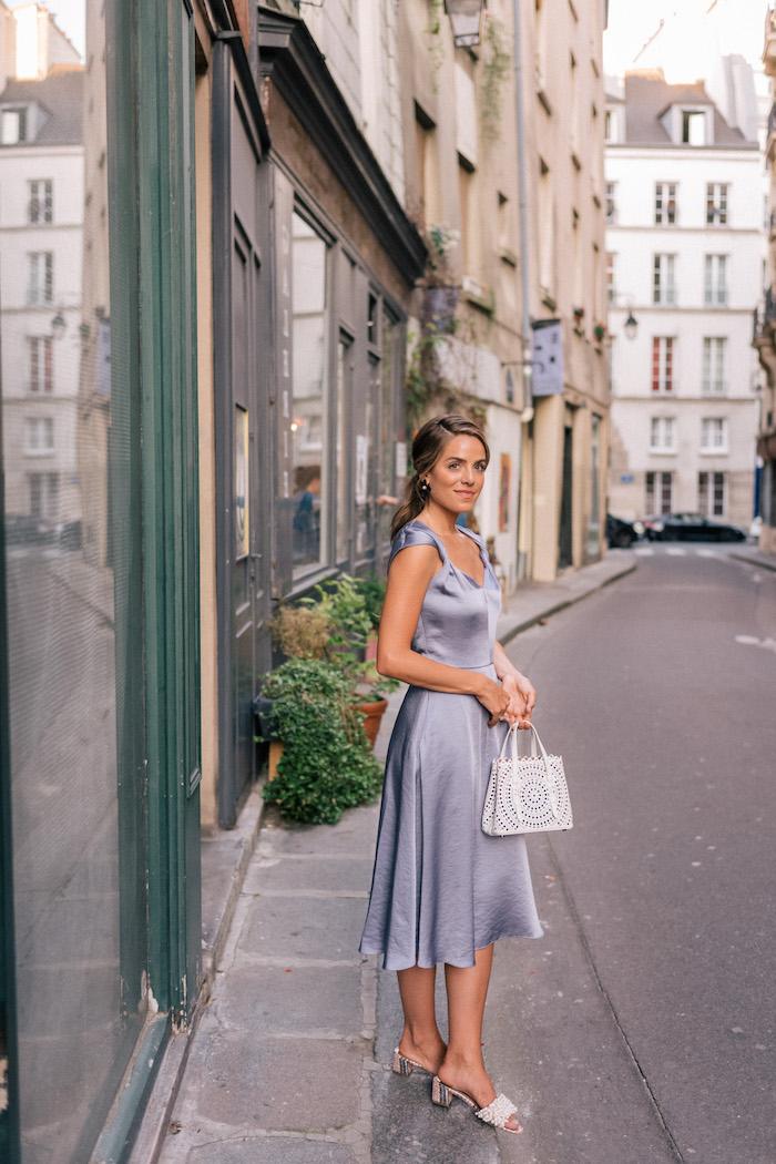 Tenue campagne chic robe champetre femme tenue décontracté chic cool idée femme photo vacances à Paris