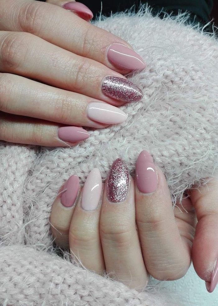 Motif ongle inspiration pour l'hiver, quelle couleur choisir, ongle gel couleur, beauté ongles