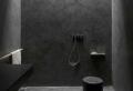 Salle de bain en béton ciré – brut de paume