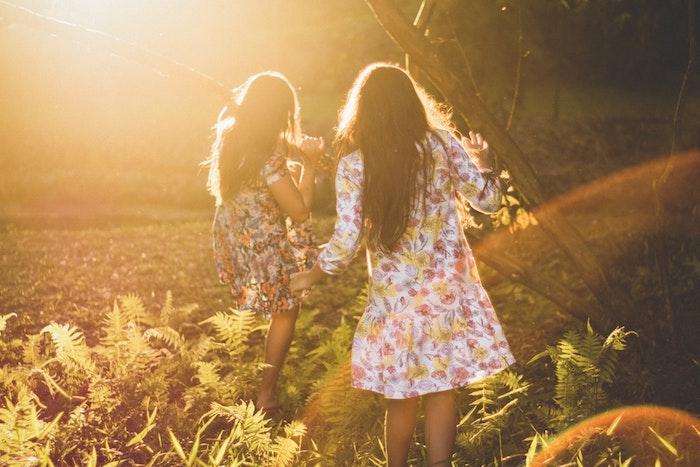 Robe chic courte style bohème rustique cool idée tenue femme romantique promenades aux champs