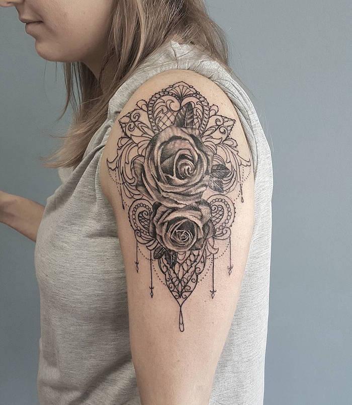 1001 Idees Tatouage Epaule Des Modeles Sur Lesquels S Appuyer