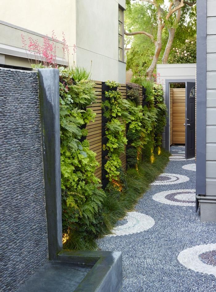 Stunning Cloture Jardin Vertical Photos - House Design ...