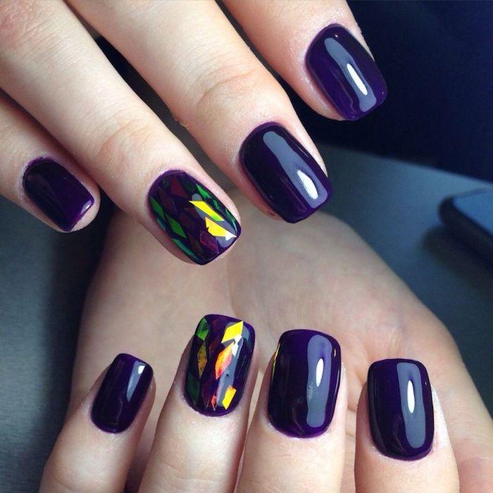 Modele ongle gel, idée couleur et modele d ongle en gel, photo ongle gel professionnel