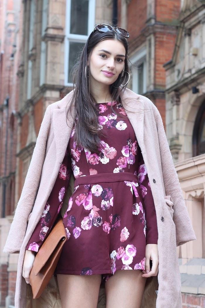 Originale idee comment s'habiller aujourd'hui, tenue habillée avec une combishort moderne, tenue d'automne 2018 tendance