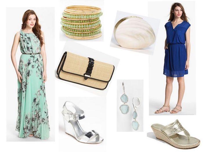 Robe champetre chic mariage champetre tenueà gauche et belle idée tenue confortable pour promenades champetre style