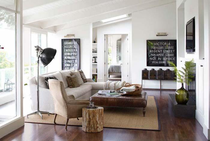 Déco séjour comment amenager petit salon style et couleur aménagement cosy deco neutres tones