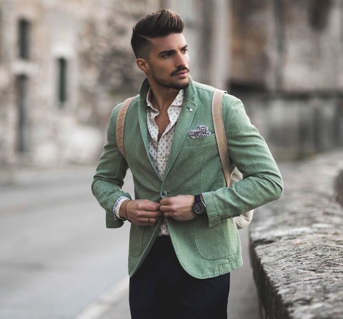 vetement homme casual chic