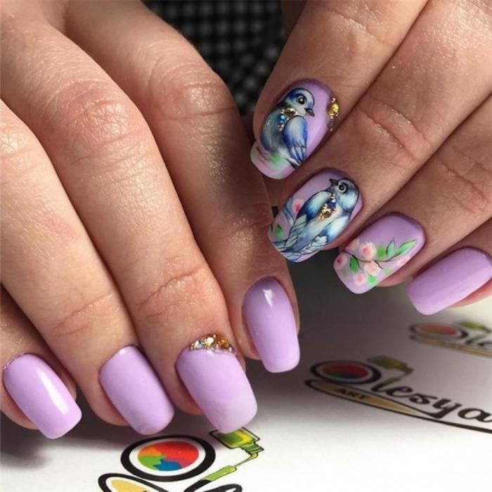 Beau dessin ongle, modele d'ongle en gel, modele ongle nail art, ongle dessin