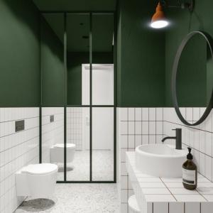 Salle de bain avec verrière - allier l'esthétique au fonctionnel