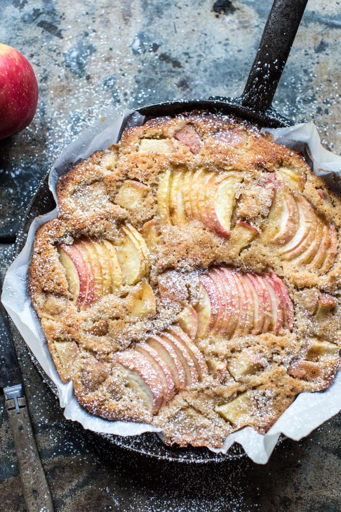 Gourmand gateau aux pommes, gâteau léger recette vegan, idee gateau simple et rapide
