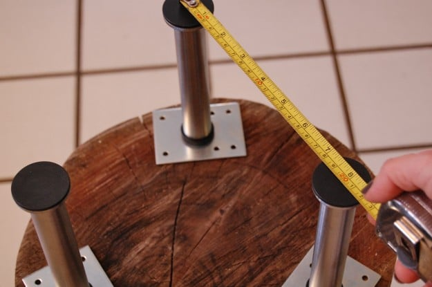 tutoriel comment fabriquer une table basse souche d arbre tronc deco