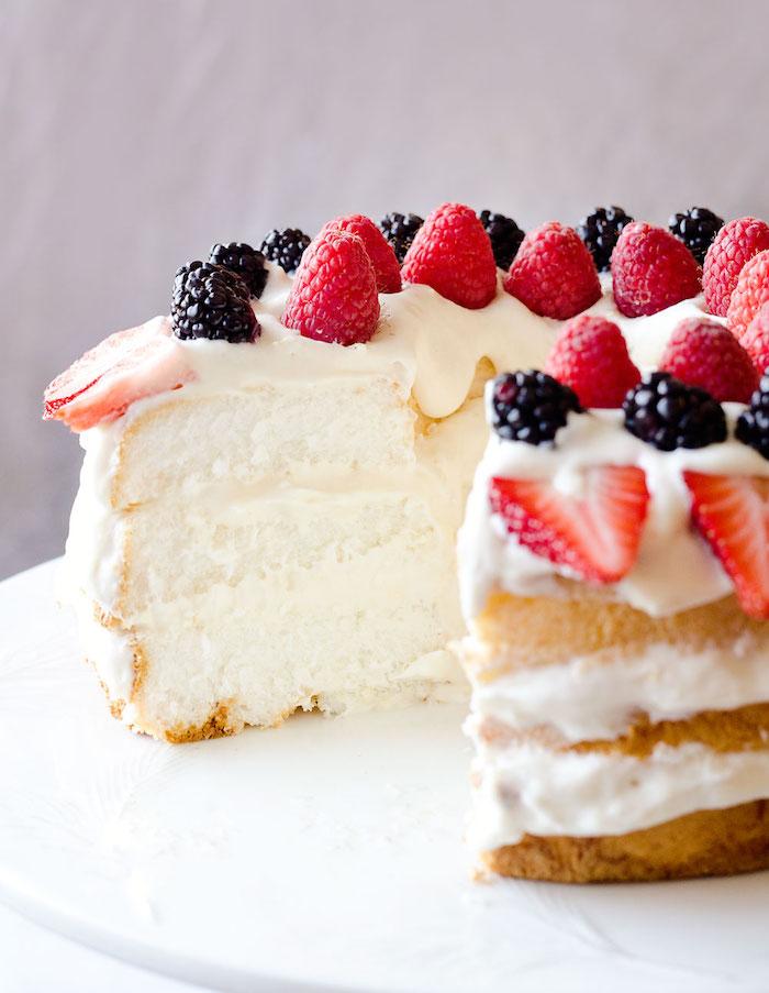 Gateau a la poudre d amande, recette gateau noix de coco, cool idée pour gâteau moins calories