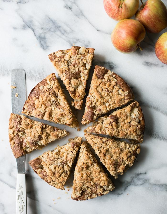 Préparer un gateau sans gluten sans lactose, gateau leger recette rapide et facile, crumble tarte avec pommes