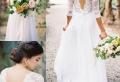 La robe de mariée à dos nu : 70 robes suggestives à dos ouverts coup de coeur