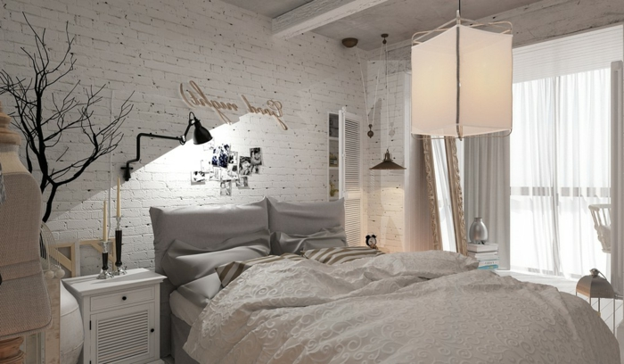 1001 mani res de r aliser son id e d co chambre adulte romantique. Black Bedroom Furniture Sets. Home Design Ideas