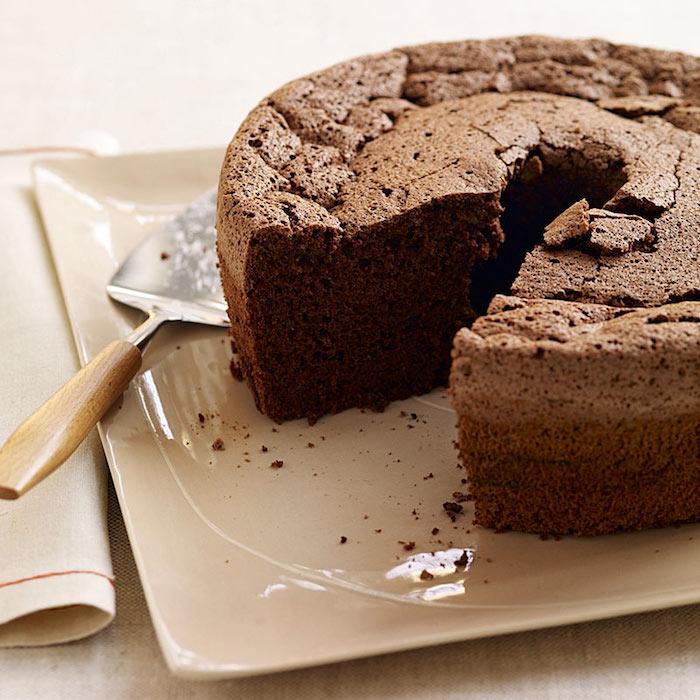 Idée gateau au chocolat sans gluten, gateau leger estival, un gateau au poudre d'amandes et cacao facile à préparer