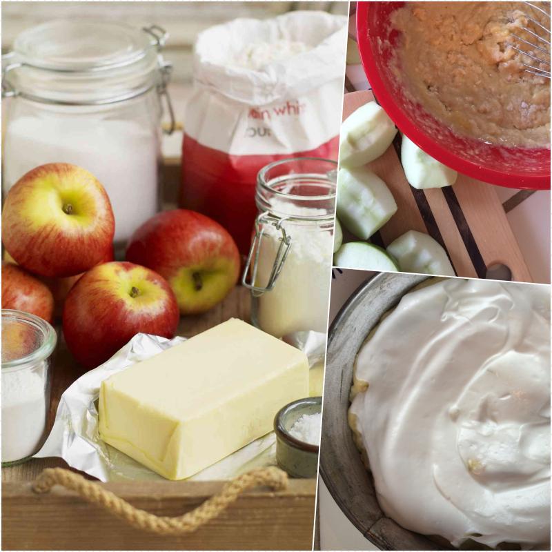 La meilleure recette saine de gâteau léger, recette pour gateau leger pour le régime, gateau aux pommes