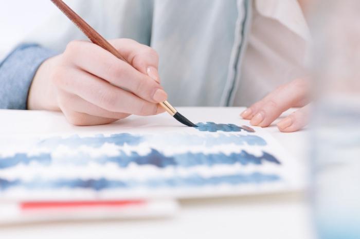 débuter l'aquarelle facile grâce à quelques tutos simples et inspirants, apprendre à peindre à l'aquarelle