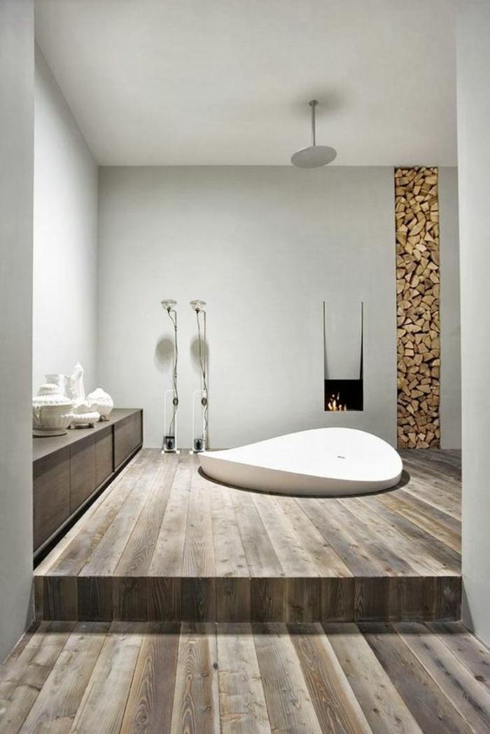 1001 id es pour une d co salle de bain zen salle de bain 5m2 - Deco salle de bain grise et blanche ...
