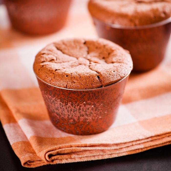 petit gateau citrouille pour un dessert à la hauteur des attentes de vos invités, recette de soufflé léger et original à la courge