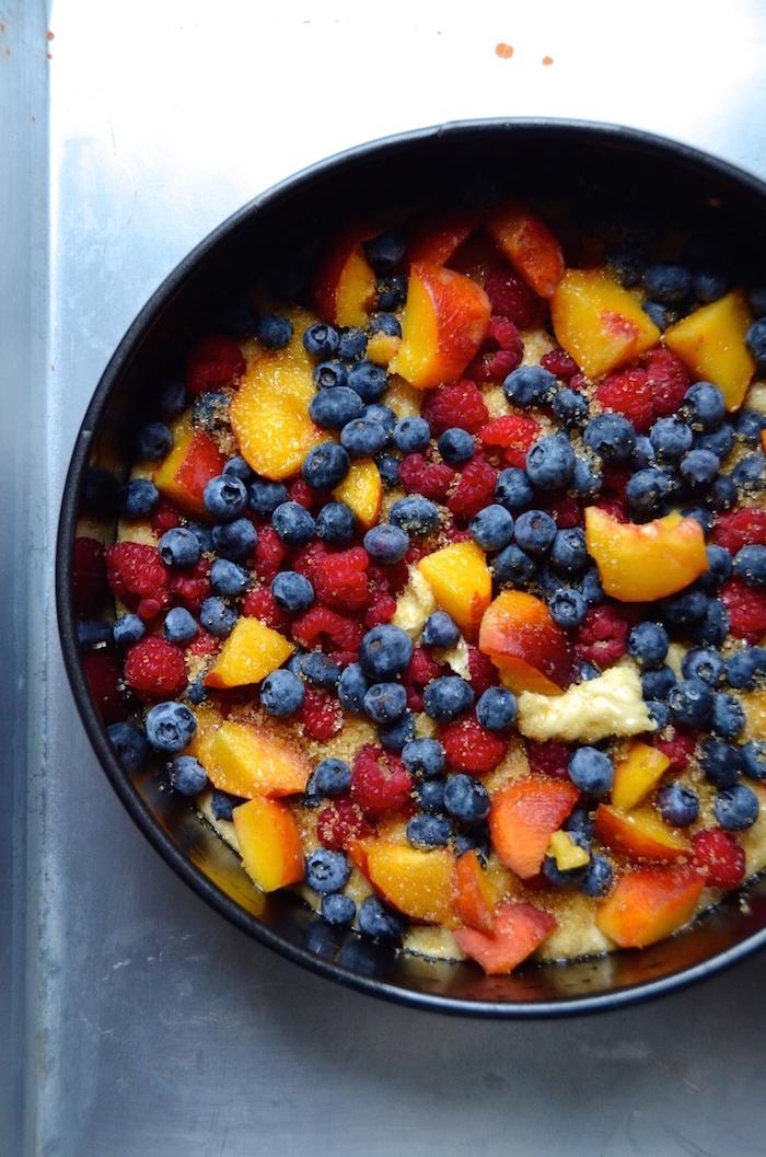 La meilleure recette saine de gâteau léger, recette pour gateau leger pour le régime avec beaucoup de fruits