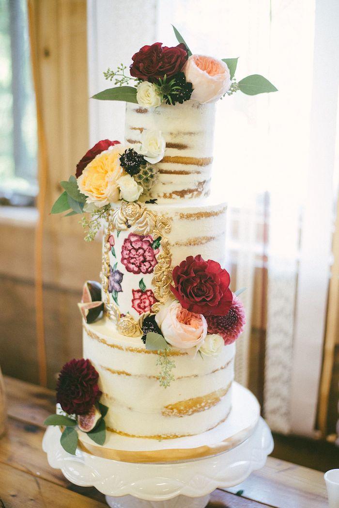 Image de gateau de mariage, le plus beau gateau du monde, gateau de mariage chouette
