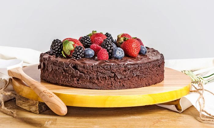 Chouette idée gateau allégé, gateau leger aux fruits, gateau invisible aux pommes, dessert facil au chocolat et fruits