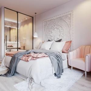Choisissez votre idée déco chambre adulte romantique - 80 photos de chambres à déco douce