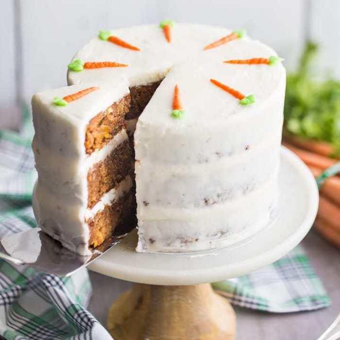 Comment faire un gâteau léger aux carottes, gateau avec couverture leger, gateau gourmand facile a faire