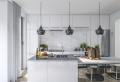 110 cuisines de rêve avec un îlot central de cuisine au coeur de l'espace