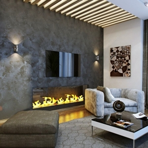 Réchauffez l'intérieur avec une fausse cheminée décorative - plus de 80 magnifiques suggestions