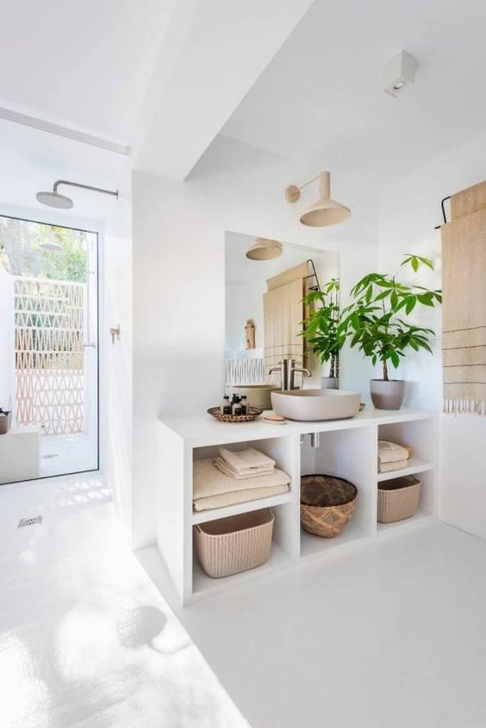 1001 id es pour une d co salle de bain zen salle de bain 5m2 - Etagere deco salle de bain ...