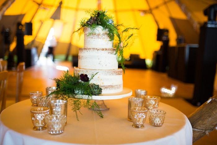 Gâteau mariage magique, image de gateau thématique pour mariage boheme chic