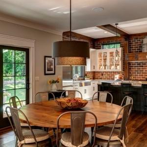 La cuisine semi ouverte - comment l'aménager. Inspiration en plus de 70 photos.